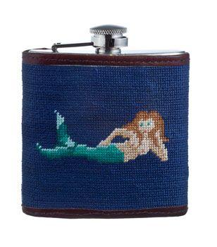 Embroidered mermaid