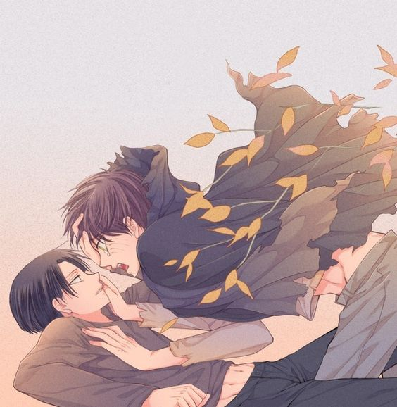 Levi & Eren   Shingeki no Kyojin #anime #yaoi: