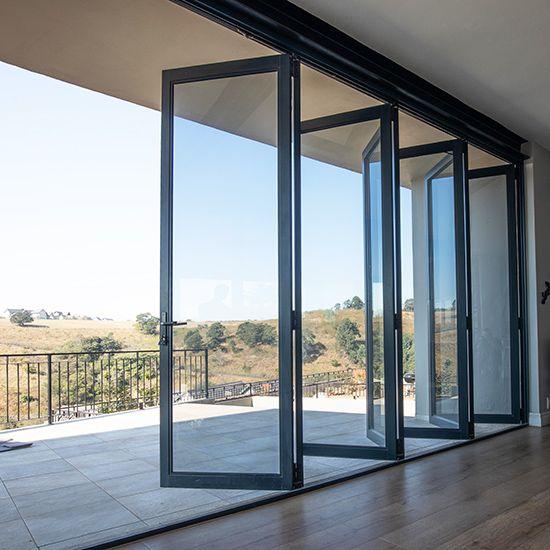 Aluminium Doors Sliding Stacking French Style Stacking Doors