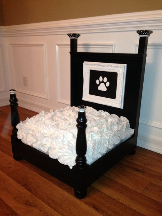 Pet Bed by KnHcustomdogbeds on Etsy, $250.00