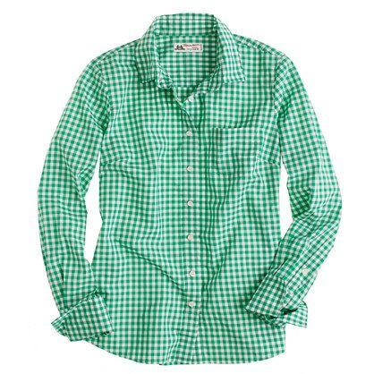 Perfect shirt in check Thomas Mason® fabric