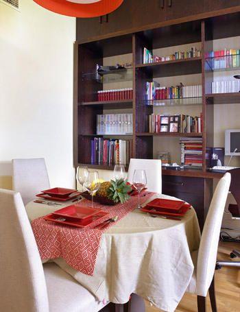 Mueble librer a realizado a medida en madera de weng - Mueble libreria a medida ...