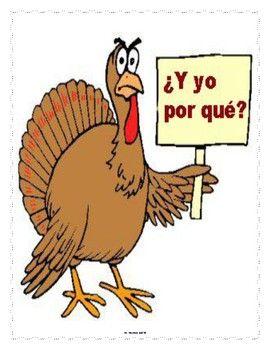 Spanish Dia De La Accion De Gracias Lesson Materials Thanksgiving Jokes Thanksgiving Preschool Funny Thanksgiving