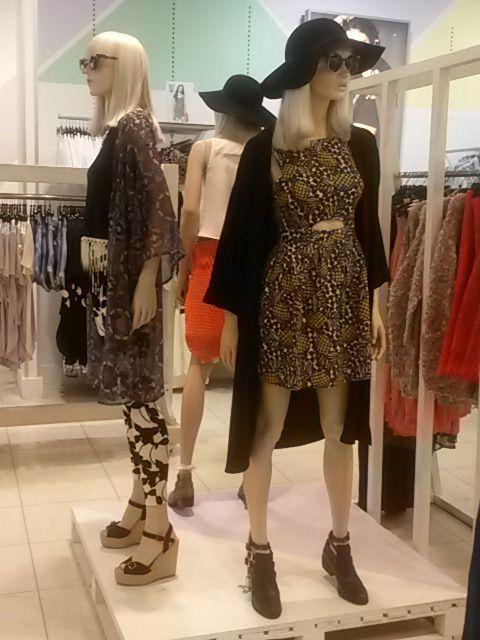 Trend: Folk Mannequin styling
