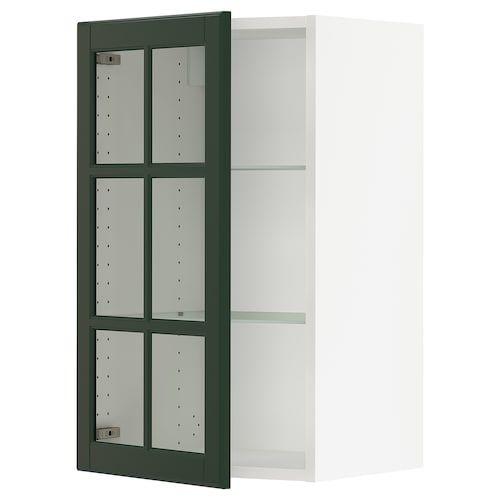 Hittarp Glass Door Off White 18x40 Glass Cabinet Doors Wall Cabinet Glass Door