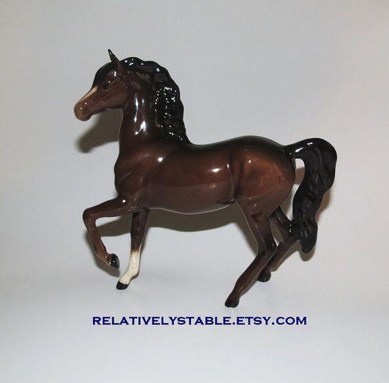 vintage horse vintage gloss Beswick Arab 1261 by RelativelyStable, $75.00