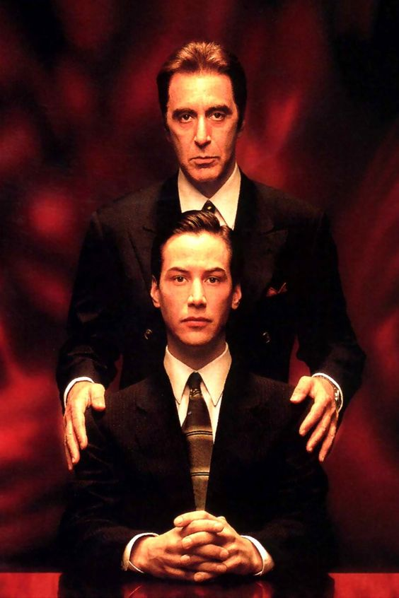 Devil's Advocate - the one movie I don't know why I love to watch but I do!