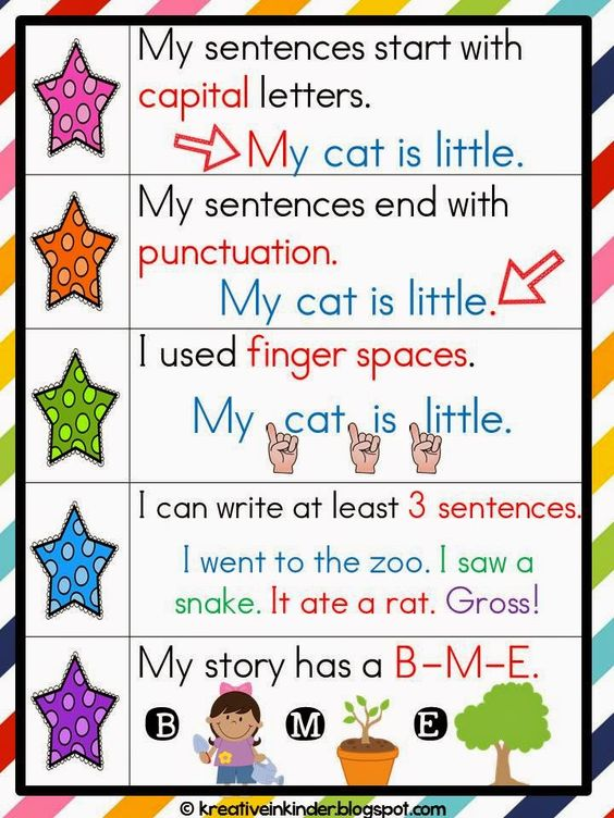 """Writing FREEBIE from my """"Kindergartners Can Be Authors, Too"""" unit - Kreative in Life"""