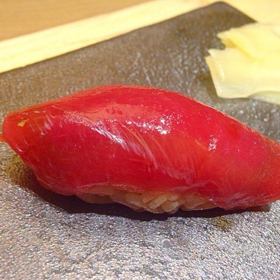 レシピとお料理がひらめくSnapDish - 3件のもぐもぐ - Akami Sushi by Obeoom Jumsai Na Ayudhya