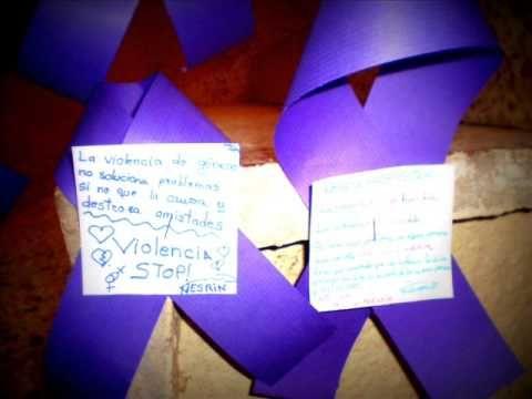 Actividades Colegio San Isidro 25N contra la violencia de género