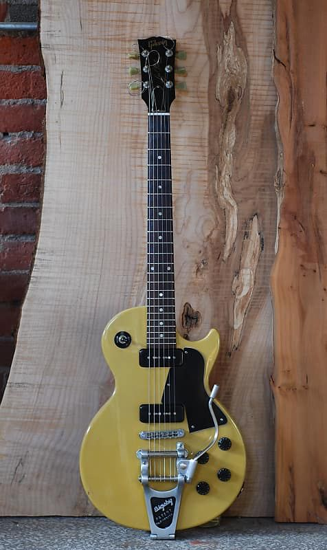 Gibson Les Paul Special Tv Yellow With Two P90s A Bigsby And A