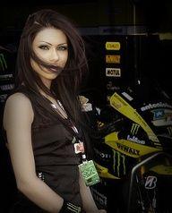 Monster Energy Yamaha Grid Girl