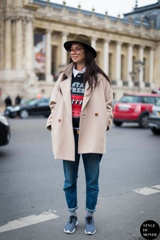 Haute Couture SS 2014 Street Style: Tomboy look
