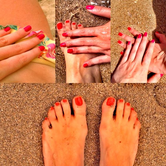 U should always match your mani with pedi #nails #manicure #pedicure #fashion #akraboutique #style #summer #vogue #london #trends