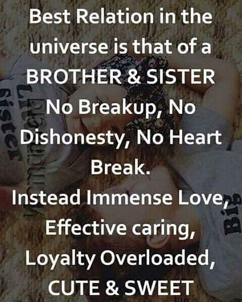Tag Mention Share With Your Brother And Sister Sister Quotes Quotes About Love And Relationships Brother Sister Love Quotes