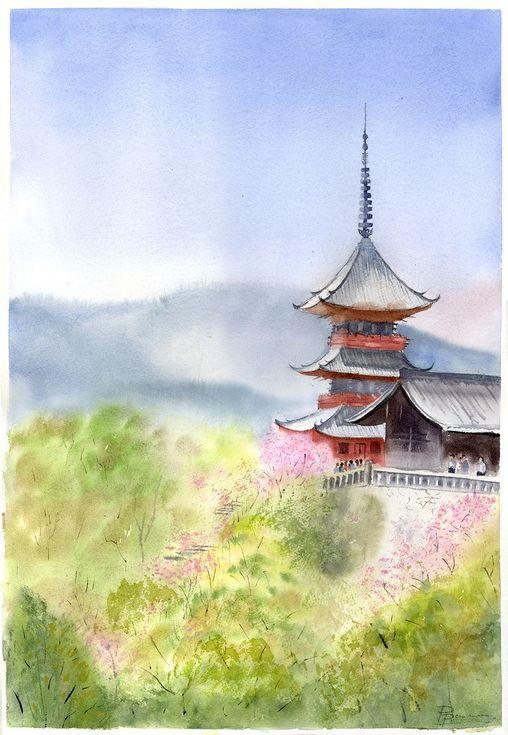 Japanese Landscape Japanese Landscape Landscape Paintings