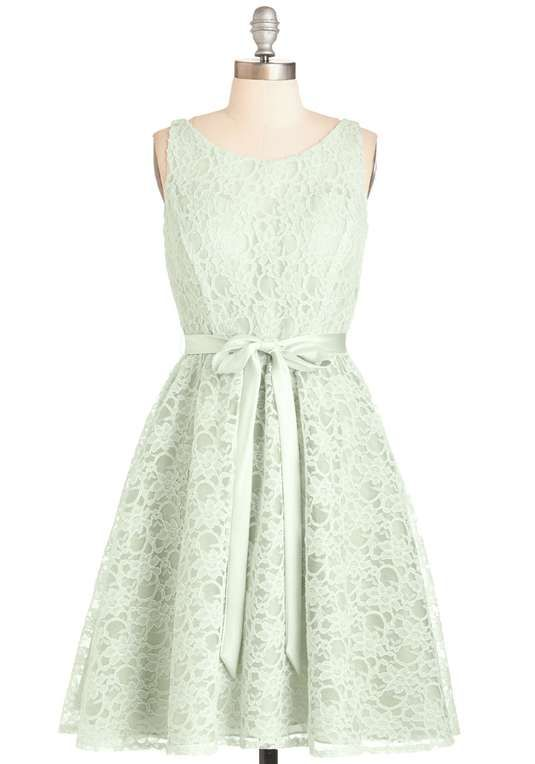 Love the ModCloth Simply Divine Dress in Sage on Wantering.