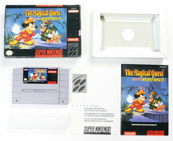 The Magical Quest Starring Mickey Mouse in OVP!NTSC-Format !
