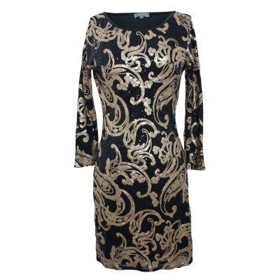 Baroque Sequin Bodycon Dress!!!!