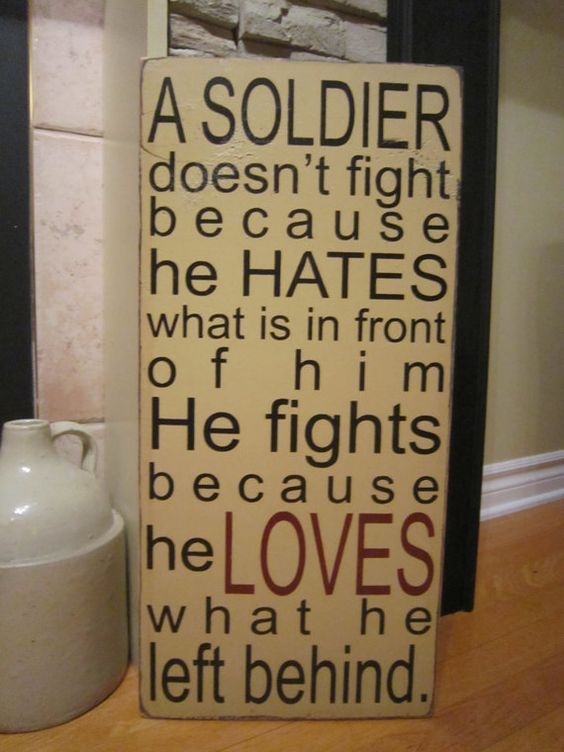 The Love of a Soldier