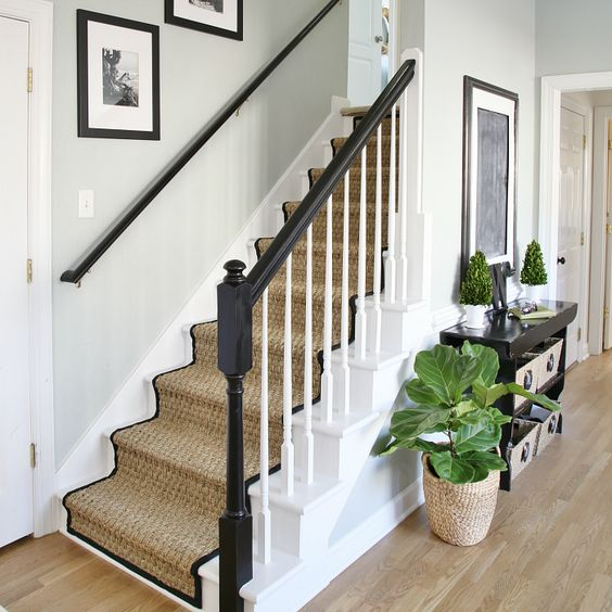 20 Attractive Painted Stairs Ideas: Painted Staircases, Staircase Makeover And Staircases On