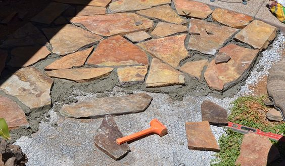 1000+ Images About Paveres/stonework On Pinterest | Flagstone Patio,  Flagstone And Crushed Granite