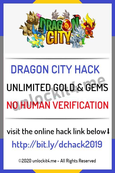 free gems dragon city no human verification