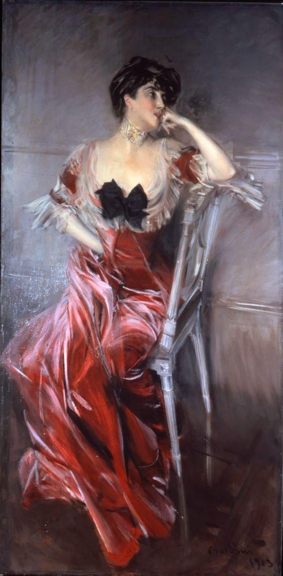 Giovanni Boldini, Ritratto di Miss Bell, 1903, olio su tela. Genova, Raccolte Frugone: