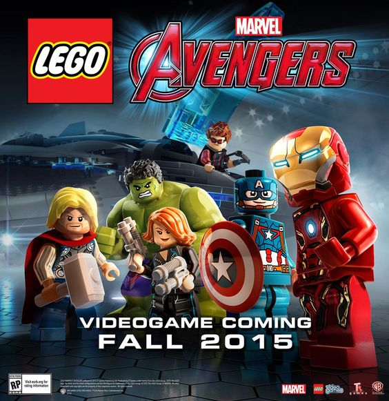ICYMI (when I accidentally tweeted it or when we officially released it last week) killer @LEGOMarvelGame promo art.