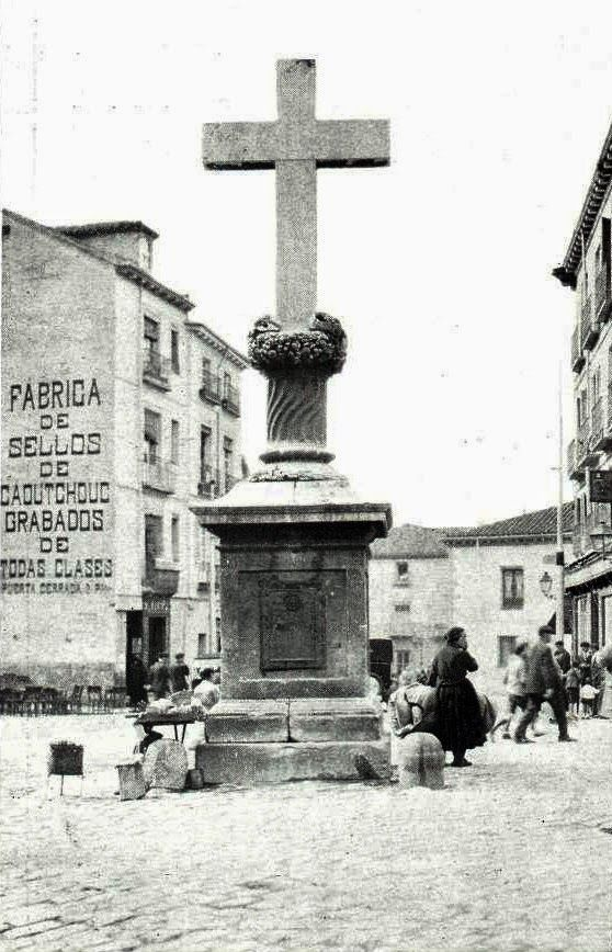 Pasión por Madrid: La cruz de Puerta Cerrada 1928