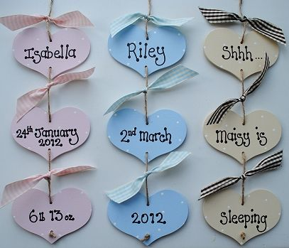 New baby gifts name plaques wall hangers keepsakes for baby new baby gifts name plaques wall hangers keepsakes negle Image collections