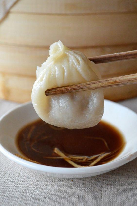 Shanghai steamed pork dumplings recipe