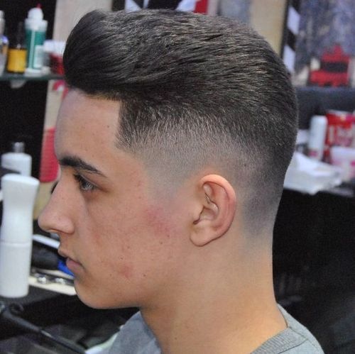 Mid Taper Fade Haircut Taper Fade Mens Haircuts Fade Fade Haircut