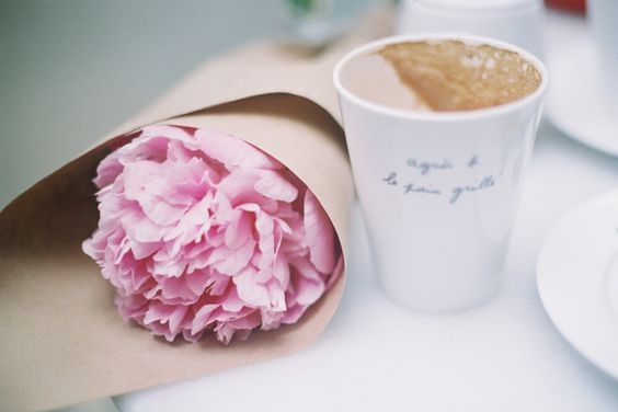 Agnes B Floral And Cafe Cafe Creme Coffee Love Peonies