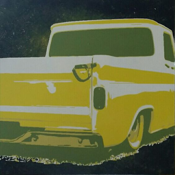 Lowrider Truck Art
