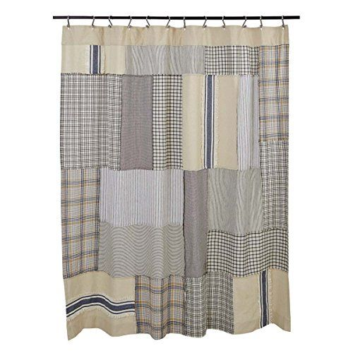 Mill Creek Patch Shower Curtain 72 X 72 Farmhouse Style Best