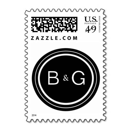 Custom Monogram Wedding Stamp Template In our offer link above you - stamp template
