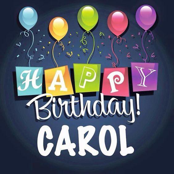 Happy Birthday Aunt Carol Cake