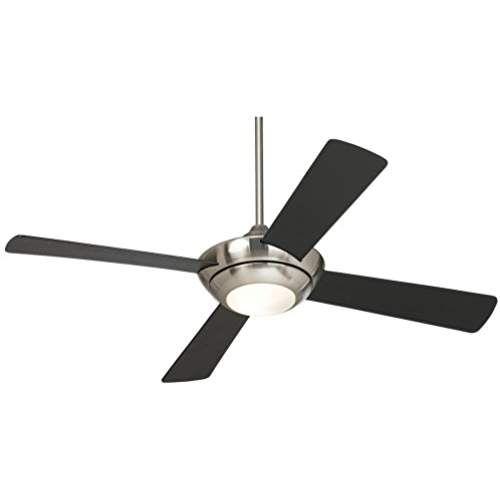52 Casa Vieja Debute Brushed Nickel Ceiling Fan Brushed Nickel Ceiling Fan Ceiling Fan Modern Ceiling Fan