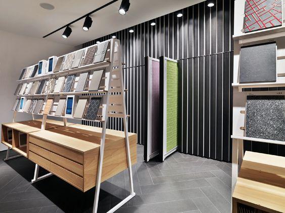 lea ceramiche the new showroom in milano lea ceramiche. Black Bedroom Furniture Sets. Home Design Ideas