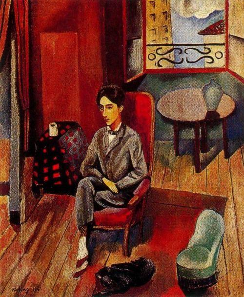 Moise Kisling, Portrait of Jean Cocteau (1916)