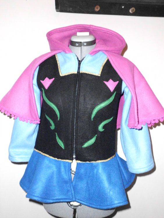Frozen Anna Disney Look Hooded Fleece Jacket | DISNEY DRESS IDEAS ...