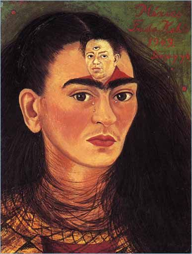 La vida y la época de Frida Kahlo . Obras de arte . Diego y yo   PBS