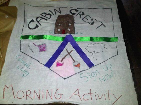 Cabin crest