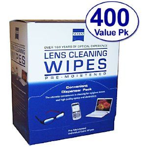 Zeiss Pre-Moistened Lens Cloths Wipes 400 Ct (2 Pack)  http://www.amazon.com/gp/product/B0030HG054?ie=UTF8=healthcare07a-20=xm2=1789=B0030HG054