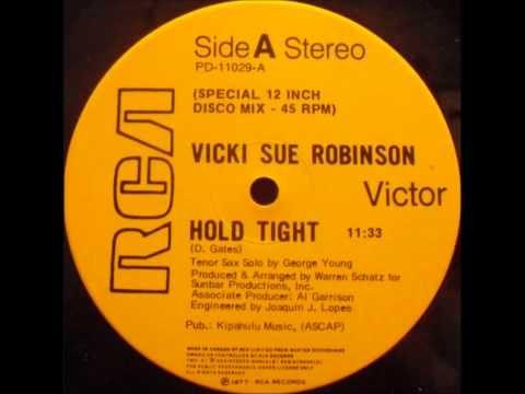 """Vicki Sue Robinson """"Hold Tight"""" (1977) 12"""" Disco Single"""