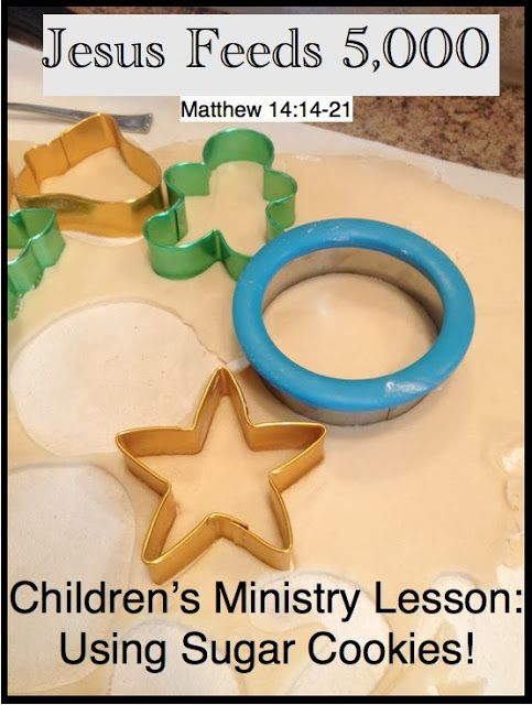 Antidotes for Mom: Feeding The People, Children's Ministry Lesson
