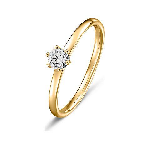 Der Verlobungsring ist ein Zeichen, den Rest des Lebens mit
