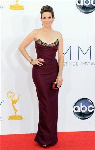 Tina Fey in Vivienne Westwood | 2012 Emmy Awards
