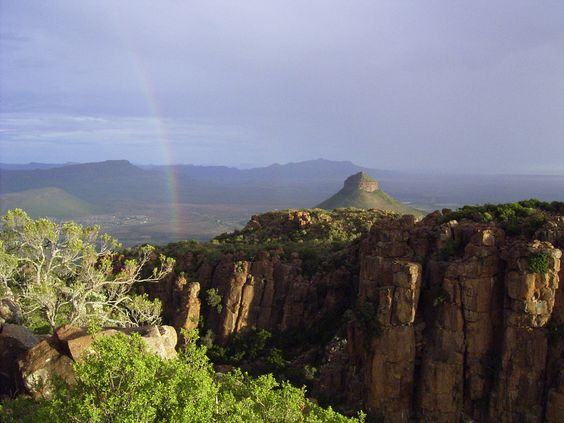 Vally of Desolation South Africa